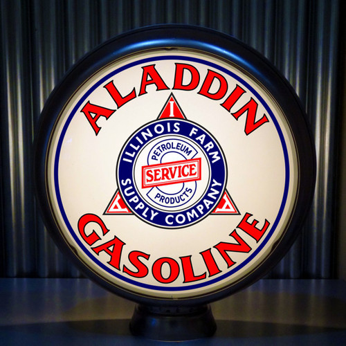 "Illinois Farm Supply Aladdin Gasoline 15"" Lenses"