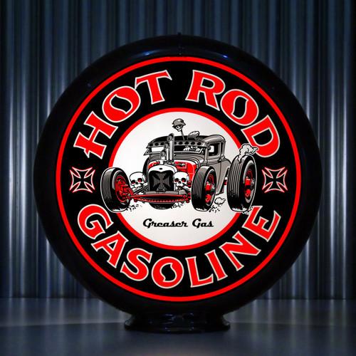 Hot Rod Greaser Gas | Gas Pump Globe