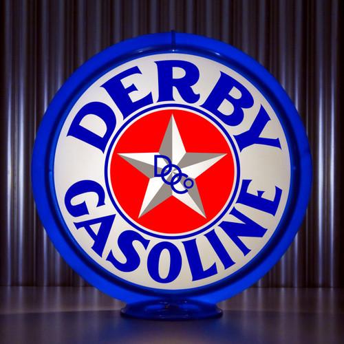 Derby Gasoline DOC   Gas Pump Globe