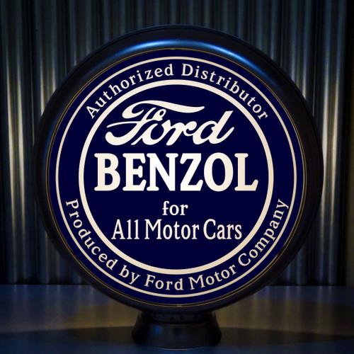 """Ford BENZOL for All Motor Cars 15"""" Ltd Ed Lenses (Blue)"""