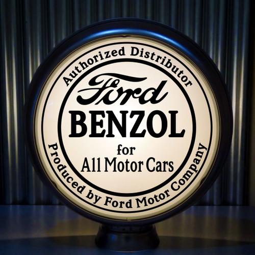 """Ford BENZOL for All Motor Cars 15"""" Ltd Ed Lenses (Black)"""