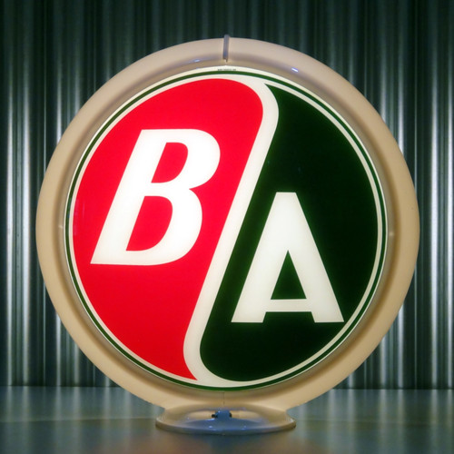 "BA Gasoline (Alternate Colors) - 13.5"" Gas Pump Globe"