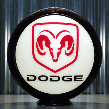 """13.5/"""" Gas Pump Globe Made by Pogo/'s Garage Ford Mustang"""