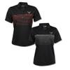 Women's C8 Corvette Stormtech Wavelength Black Polo Shirt (red or silver)