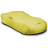 Corvette Outdoor Car Cover yellow