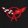 C5 Corvette Logo - Red