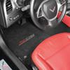 C7 Z06 Corvette Floor Mat (in car)