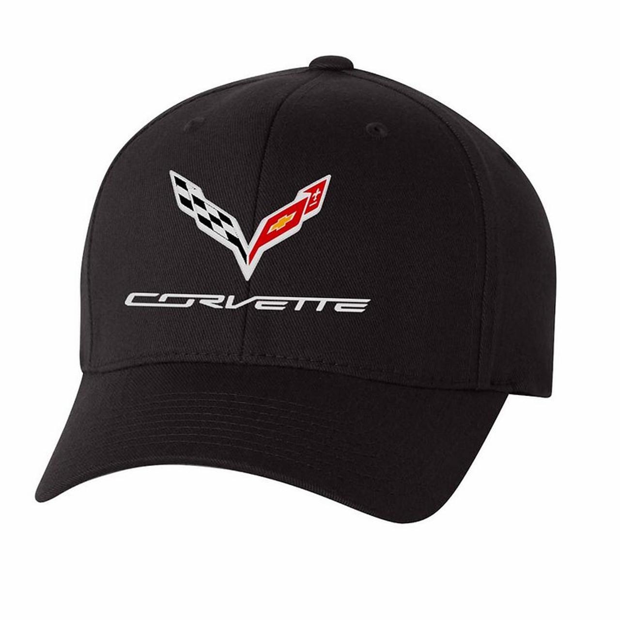 C7 Corvette Performance Flex Fit Black Hat