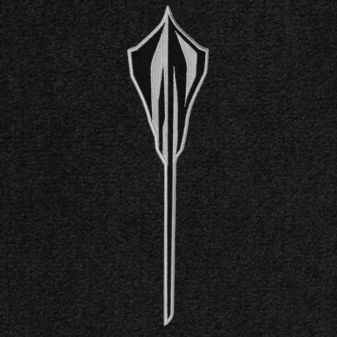 819403 - Vertical Stingray Fish Logo