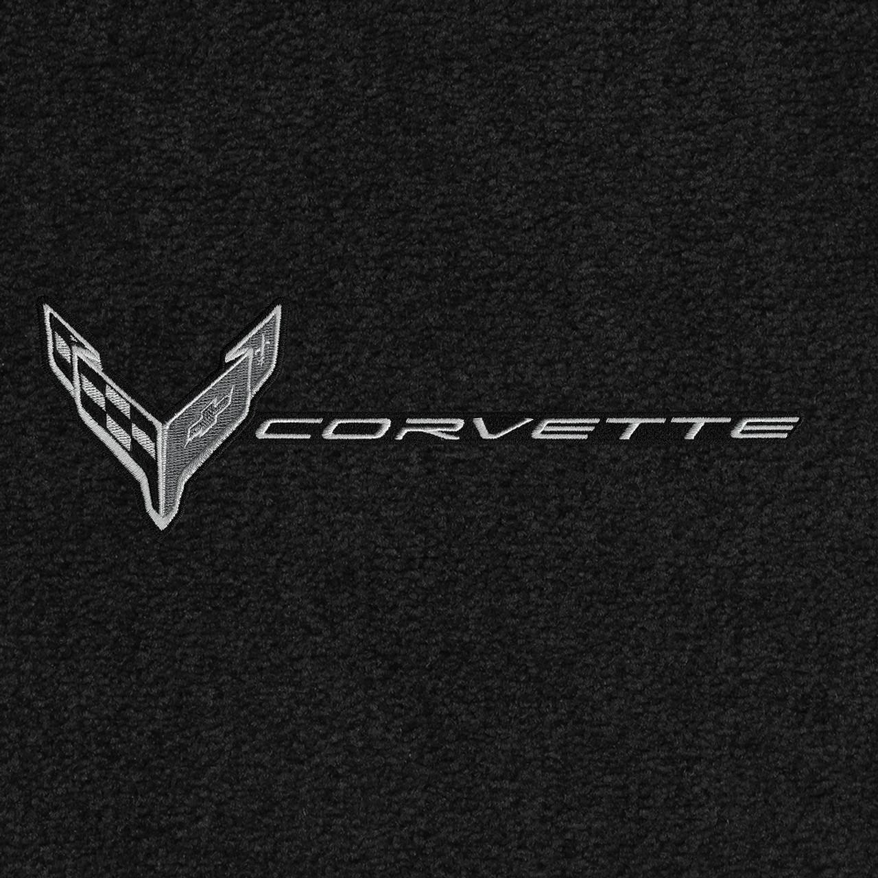 819406 - C8 Logo Monochromatic and Corvette Word Combo