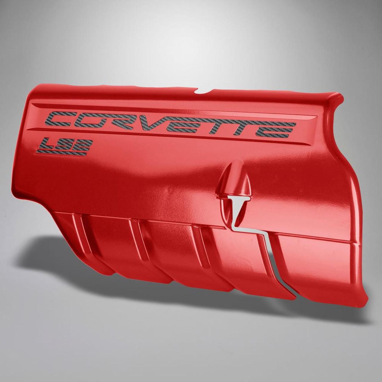 C6 Corvette LS2 Letter Kit - Carbon Fiber