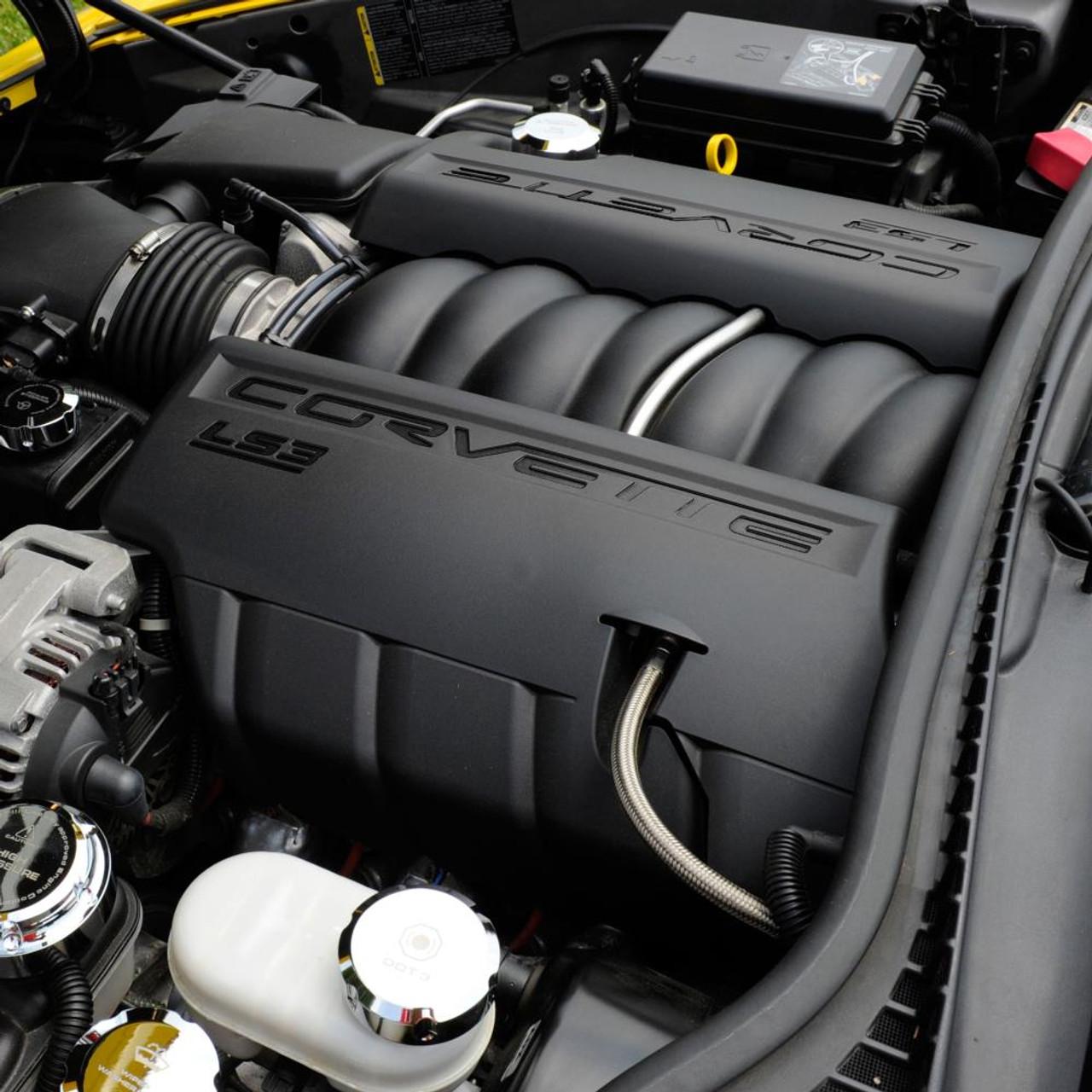 C6 Corvette LS3 Letter Kit - Black