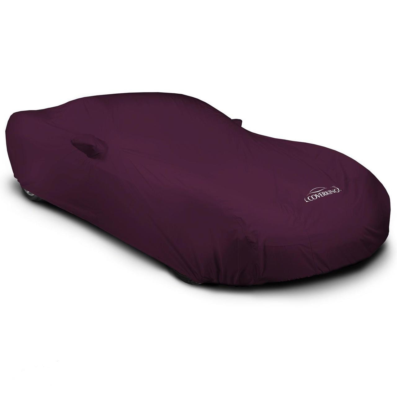 Corvette Outdoor Car Cover maroon