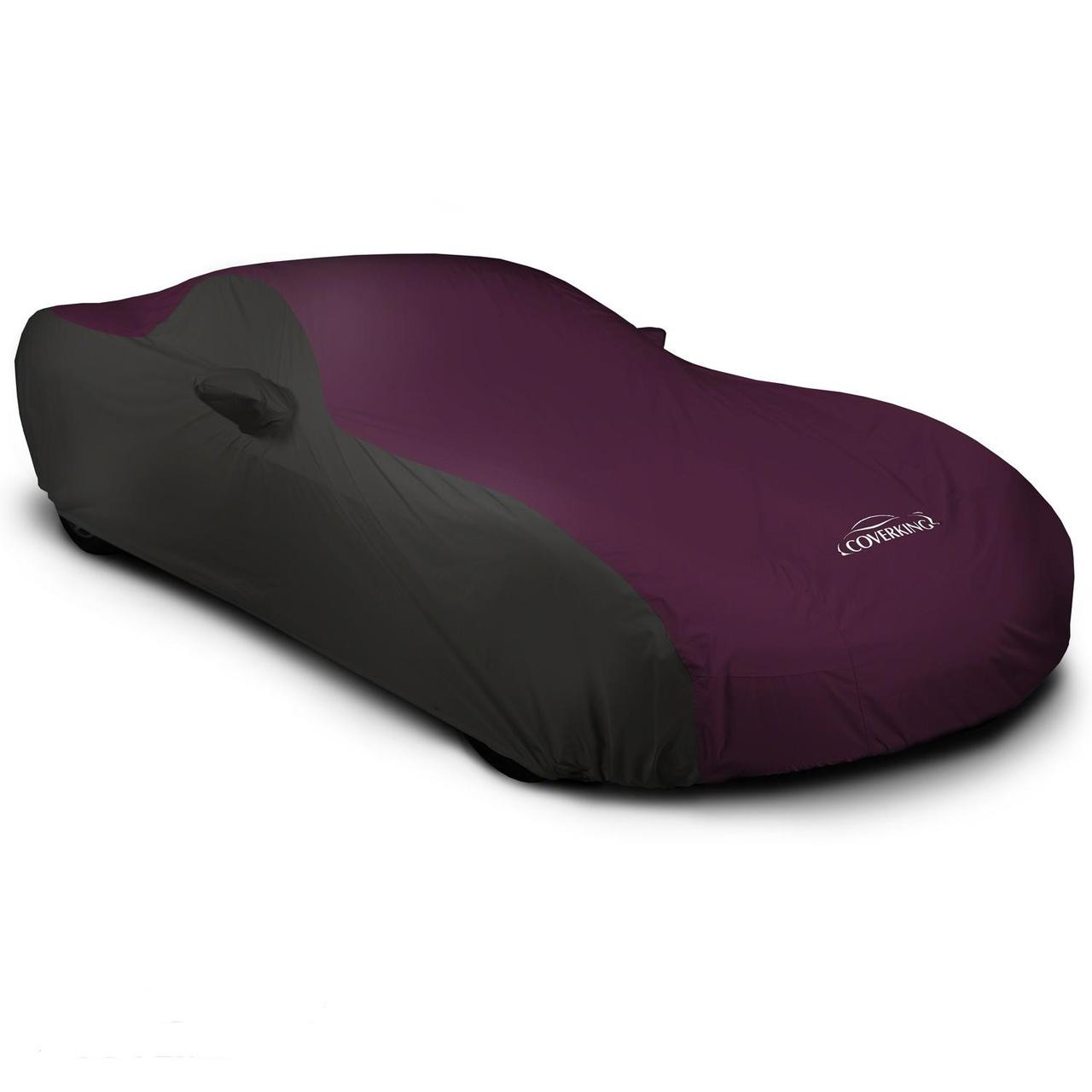 Corvette Outdoor Car Cover black/maroon