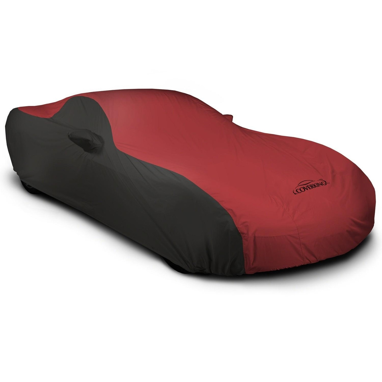 Corvette Outdoor Car Cover black/Red
