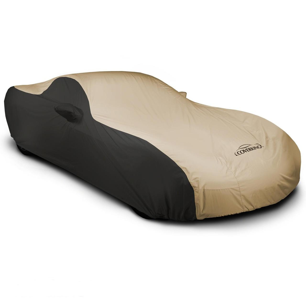 Corvette Outdoor Car Cover black/tan