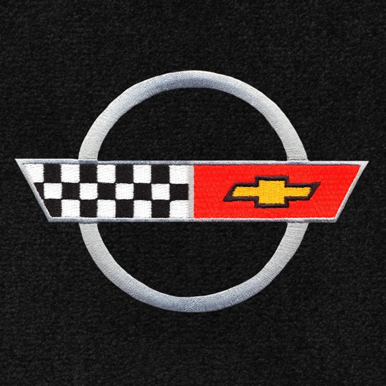C4 Corvette Silver Logo (84-90)