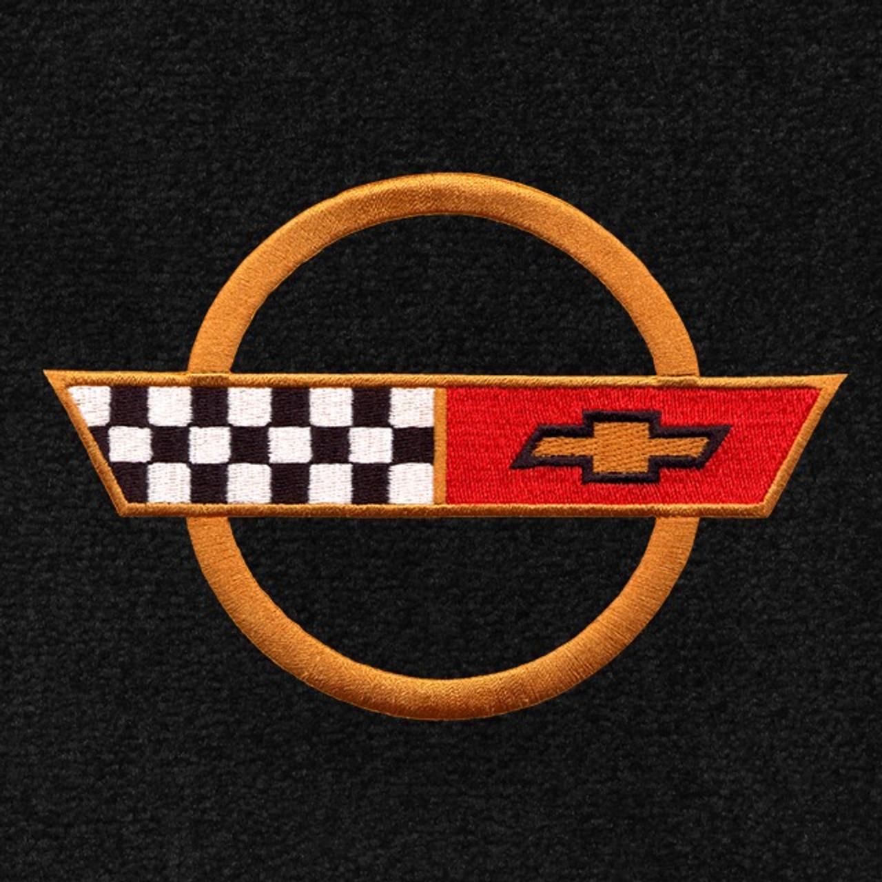 C4 Corvette Gold Logo (84-90)