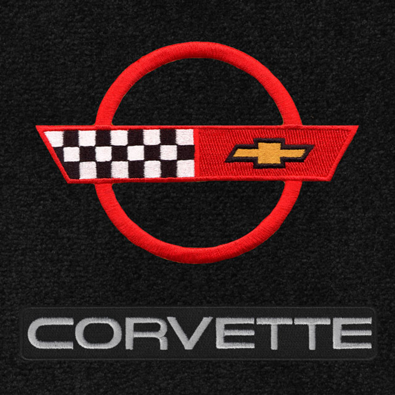 C4 Corvette Red Logo/Letters (84-90)