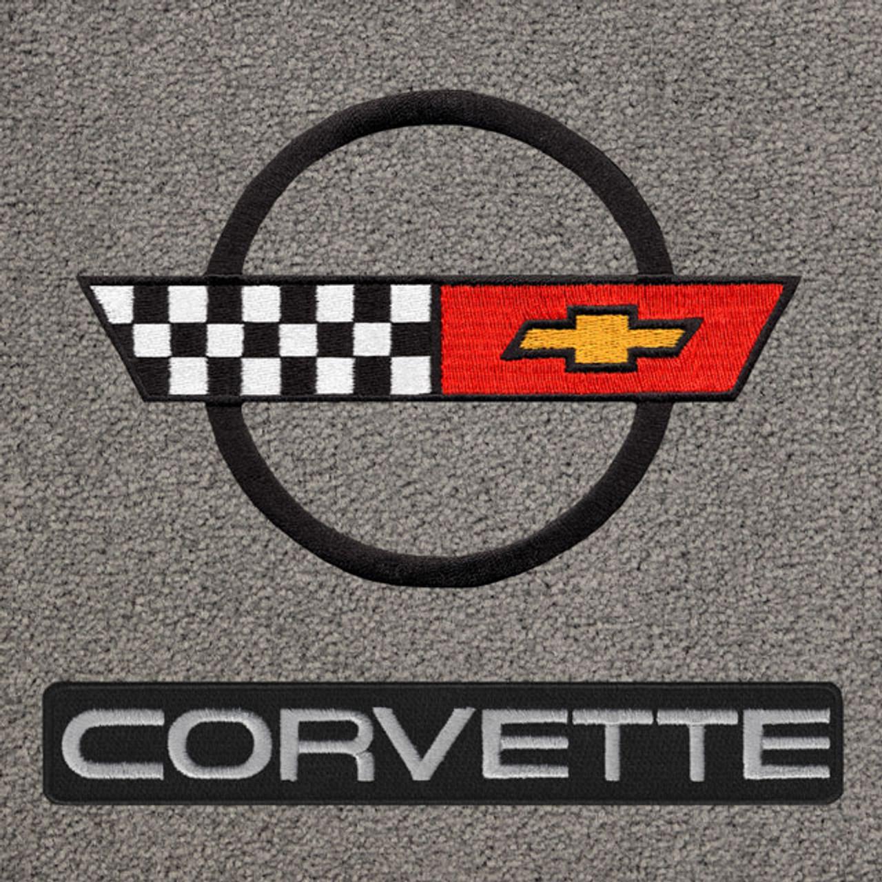 C4 Corvette Black Logo/Letters (84-90)