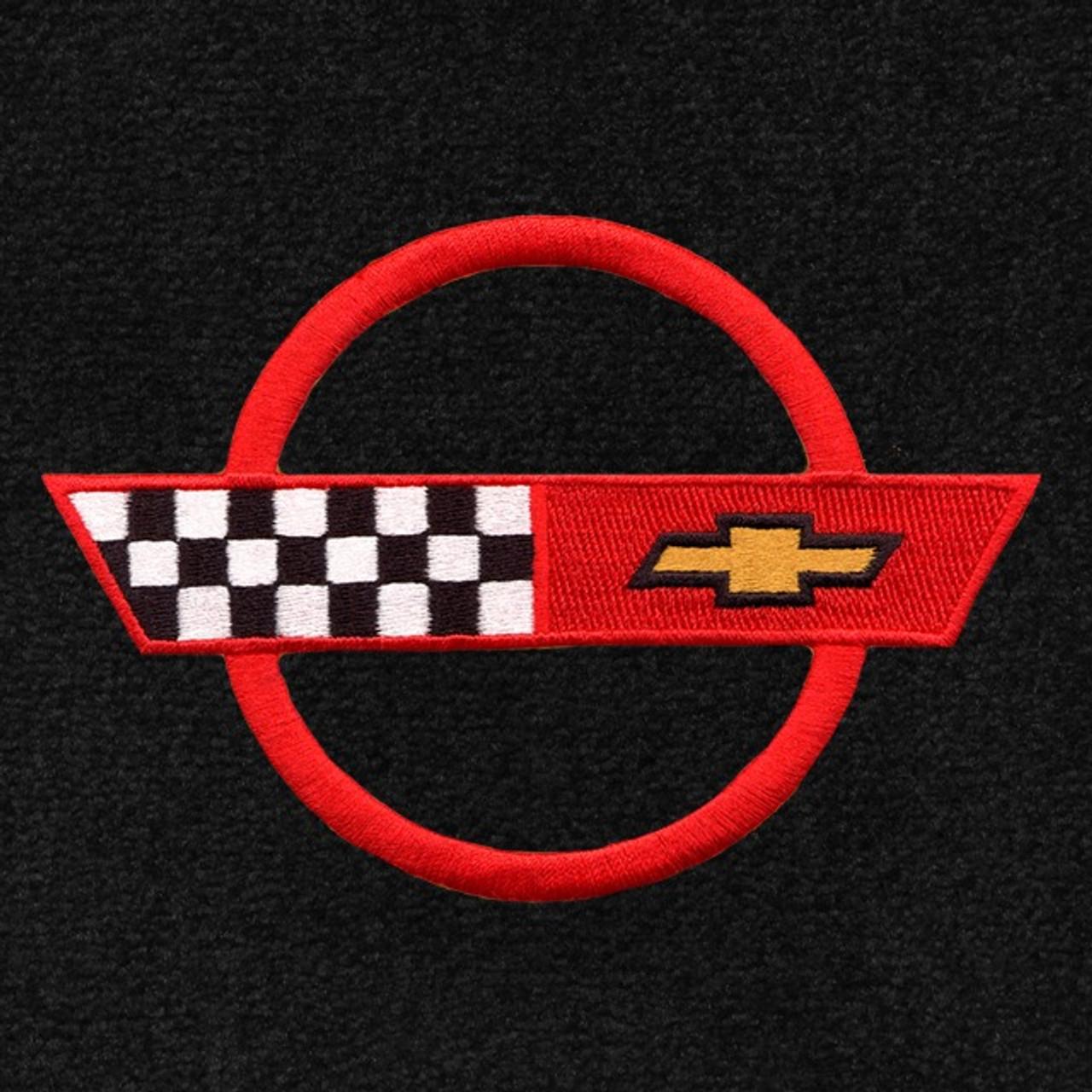 C4 Corvette Red Logo (84-90)