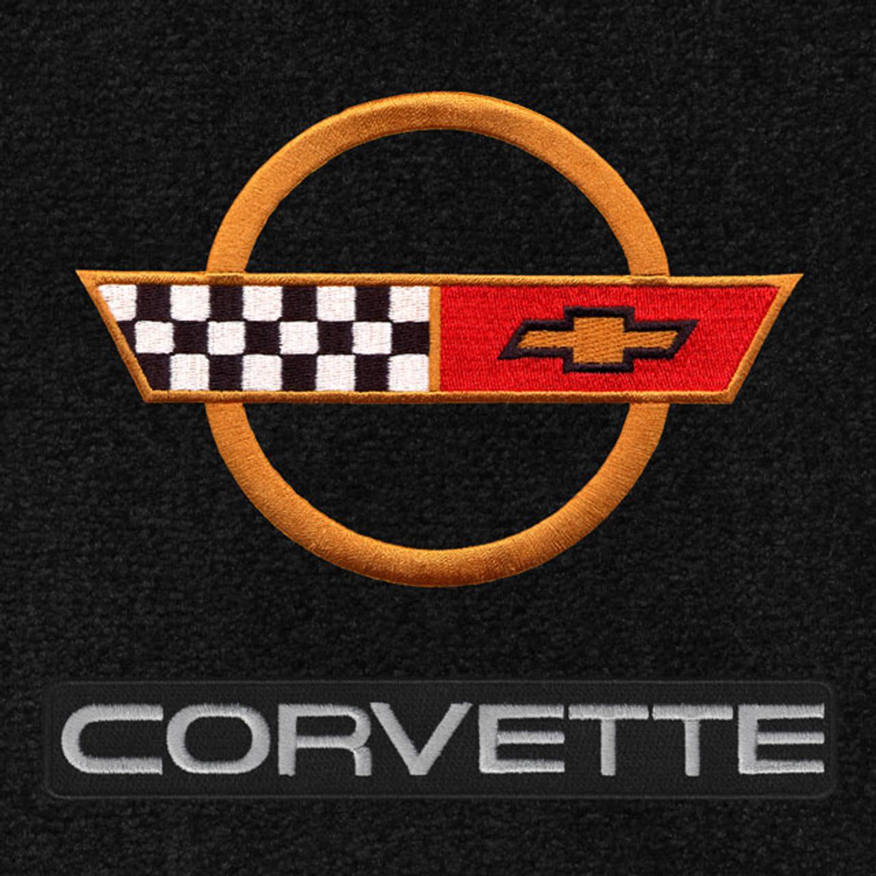 C4 Corvette Gold Logo/Letters (84-90)