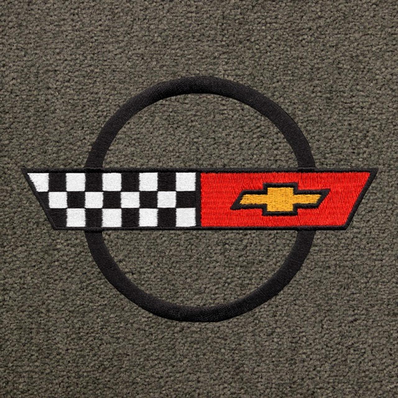 C4 Corvette Black Logo (84-90)