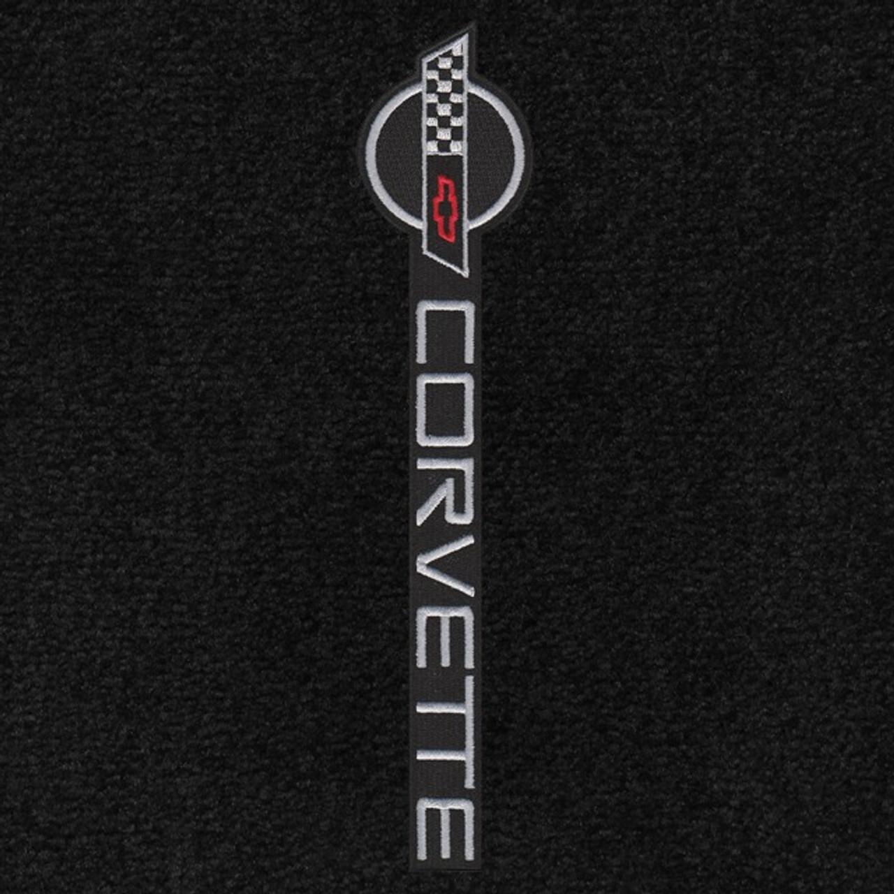 C4 Corvette Logo/Lettering (91-96) sideways facing door sill