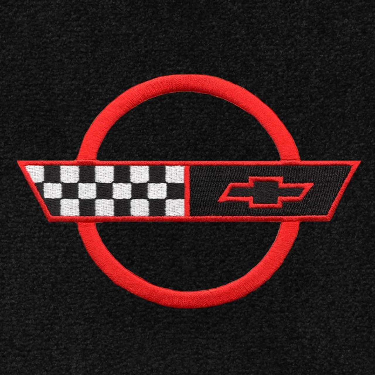 C4 Corvette Red Logo (91-96)