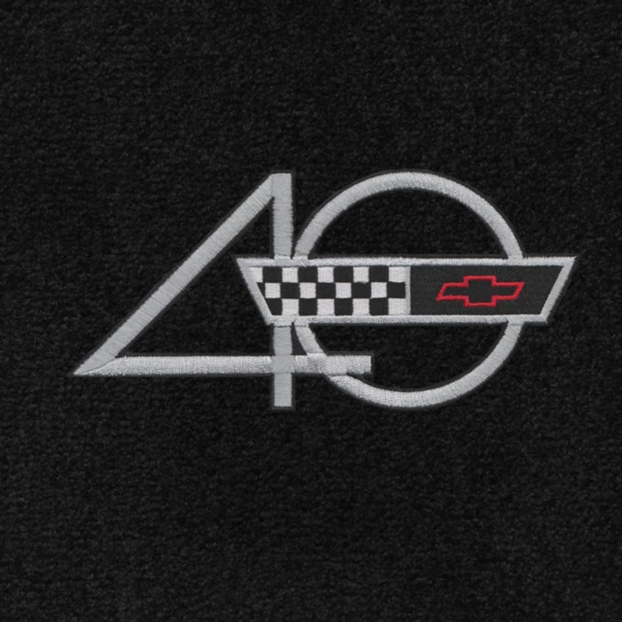 C4 Corvette 40th Anniversary Logo (93)