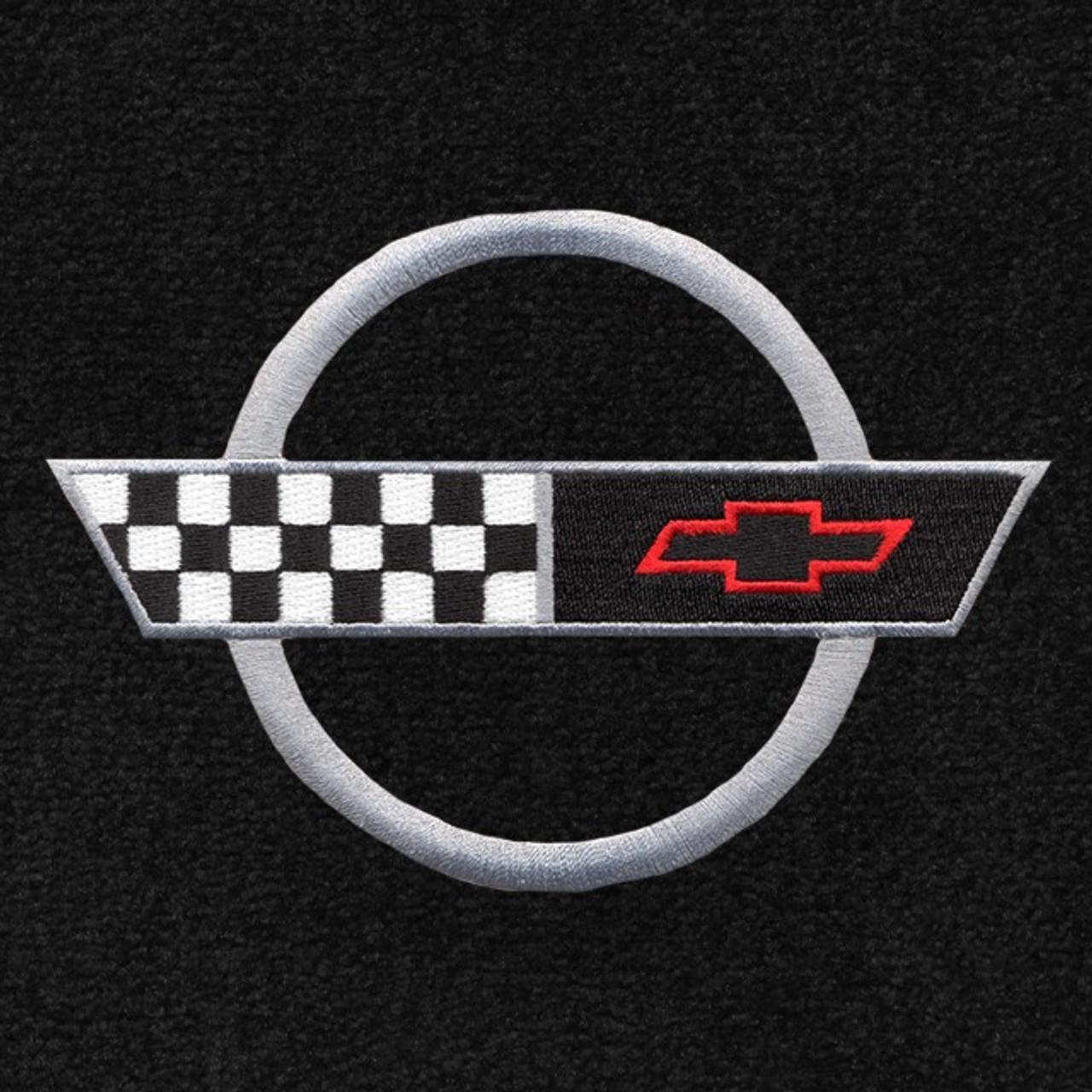 C4 Corvette Silver Logo (91-96)