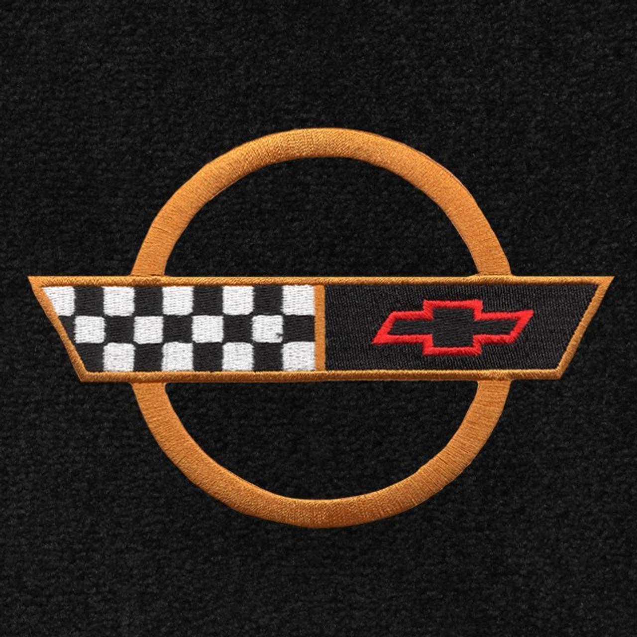 C4 Corvette Gold Logo (91-96)