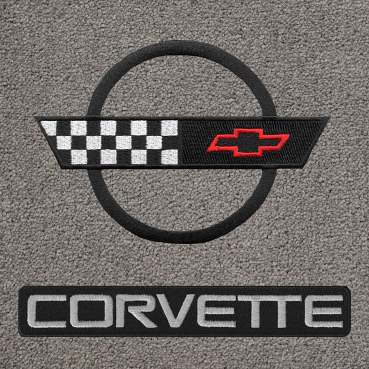C4 Corvette Black Logo/Letters (91-96)