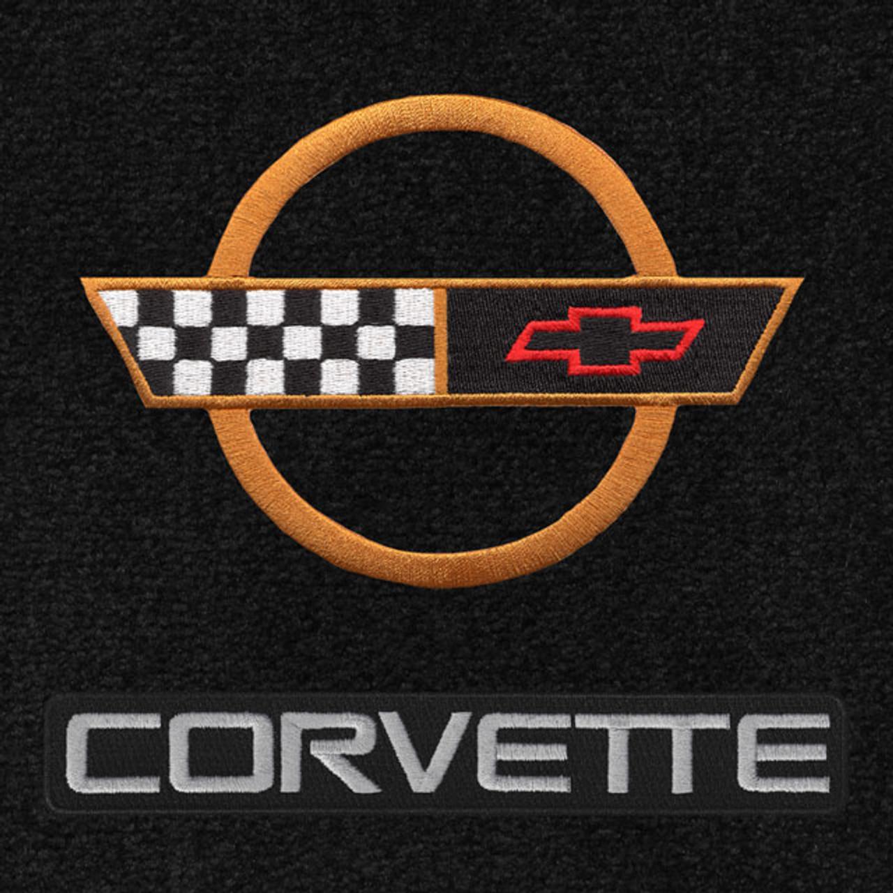C4 Corvette Gold Logo/Letters (91-96)