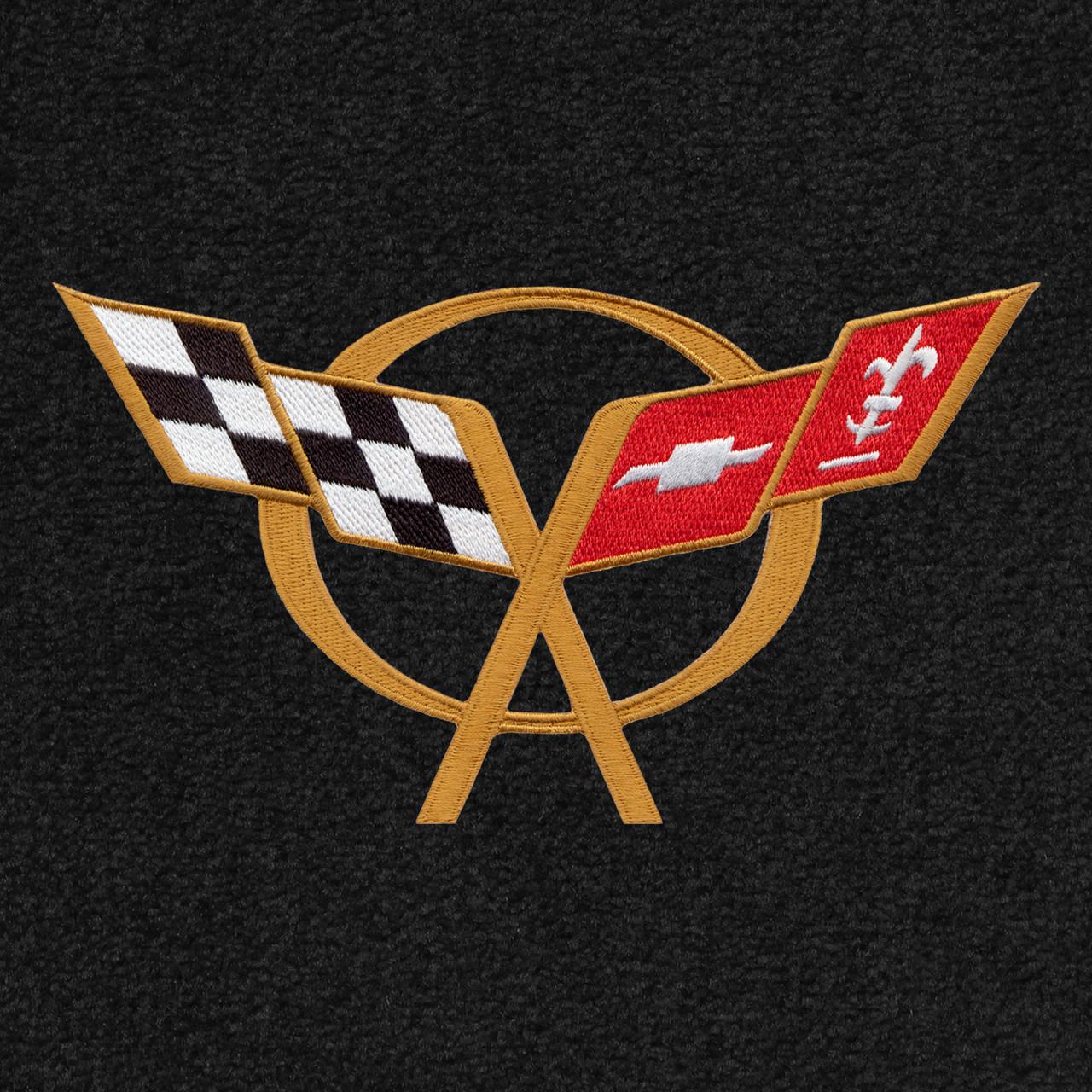 C5 Corvette Logo - Gold