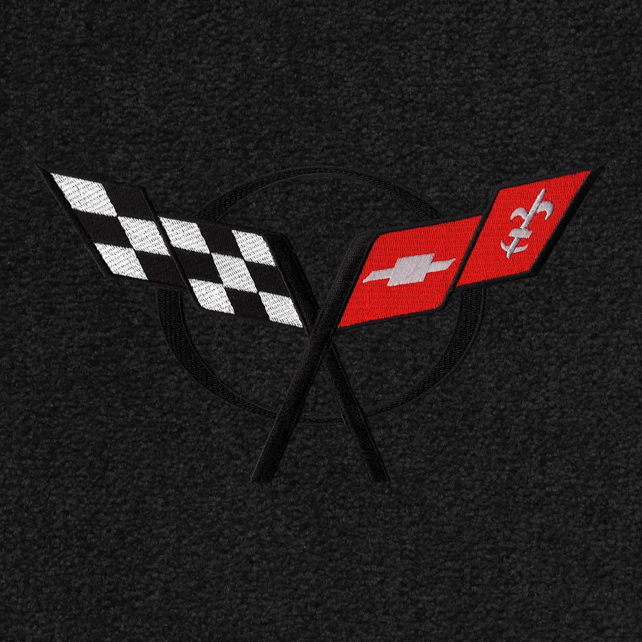 C5 Corvette Logo - Black