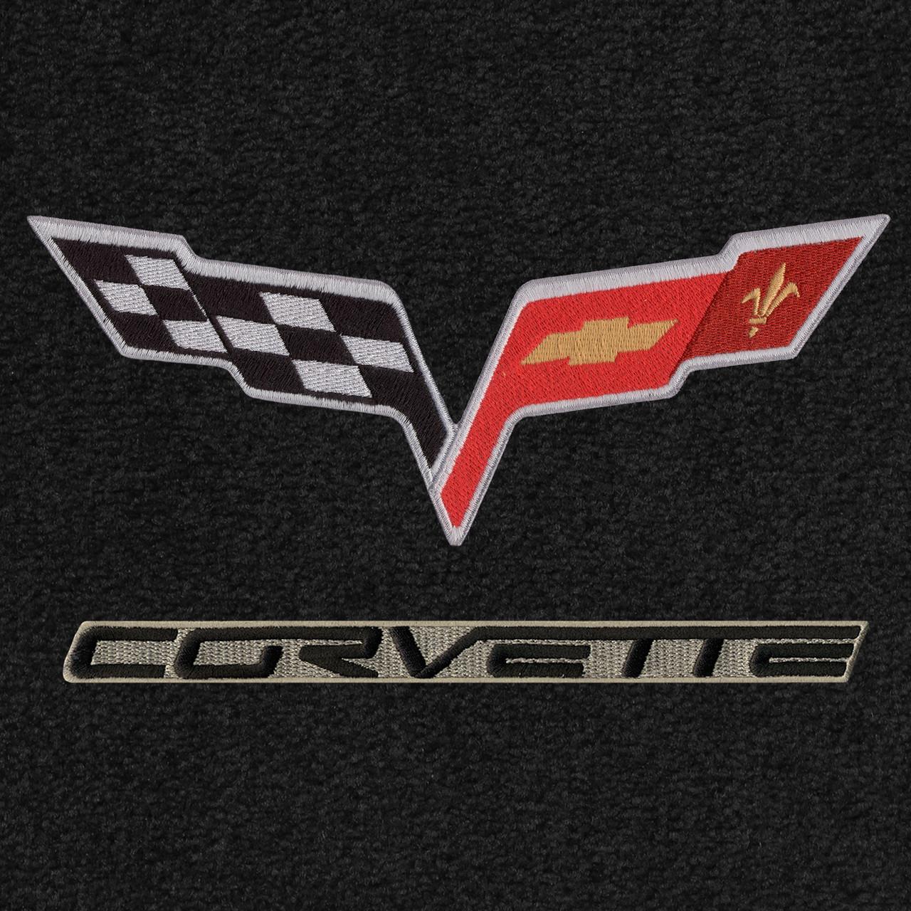 C6 Logo, Black Lettering, Beige Background