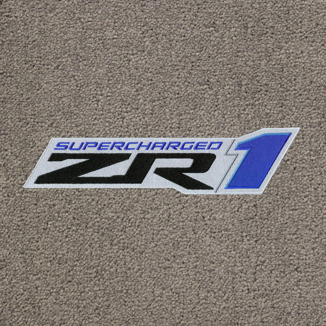 C6 ZR1 Logo on Euro Gray Mat