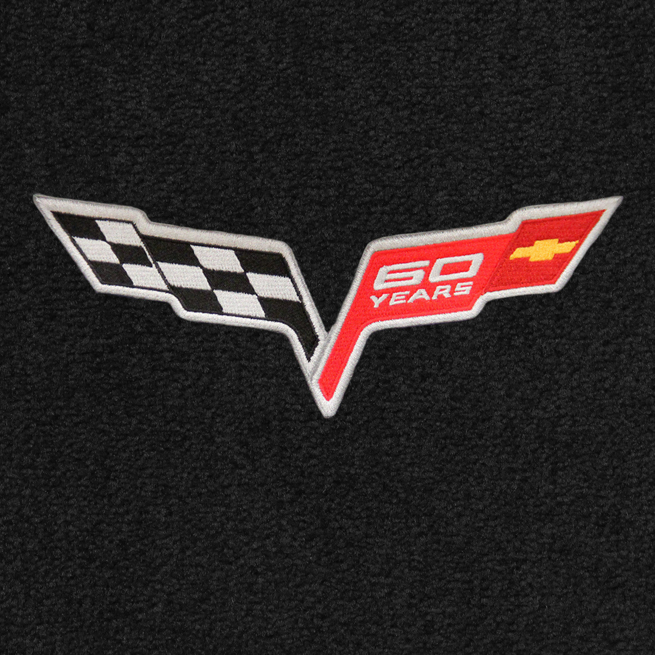 C6 60 Years 60th Anniversary Logo
