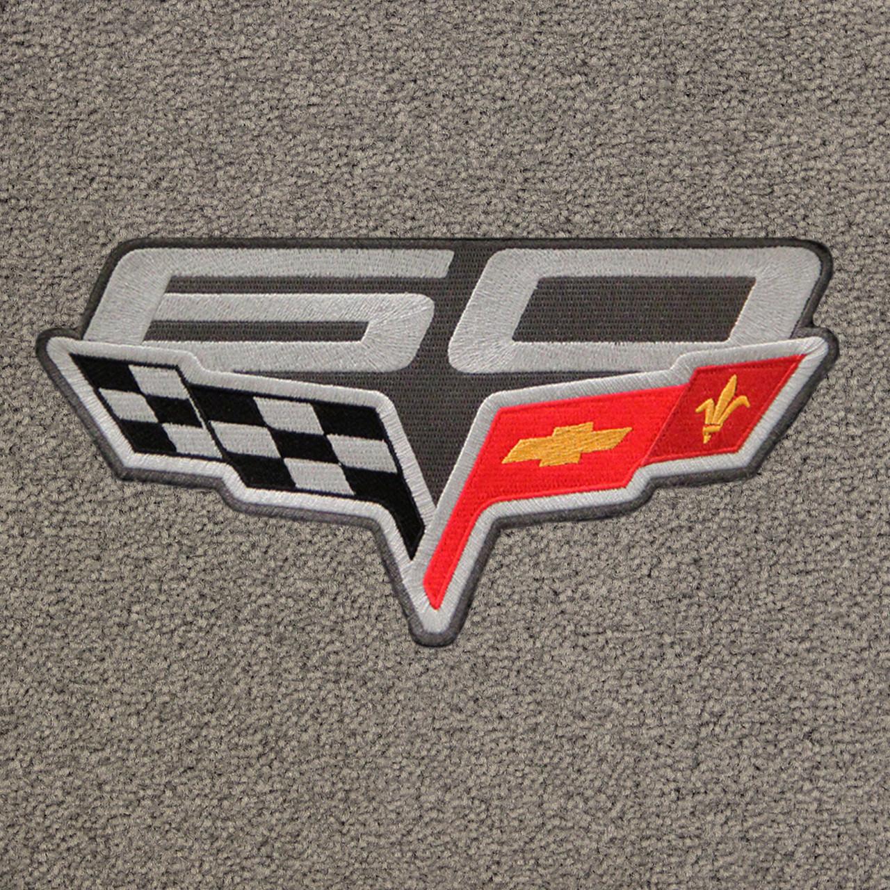 C6 60th Anniversary Logo on Euro Gray