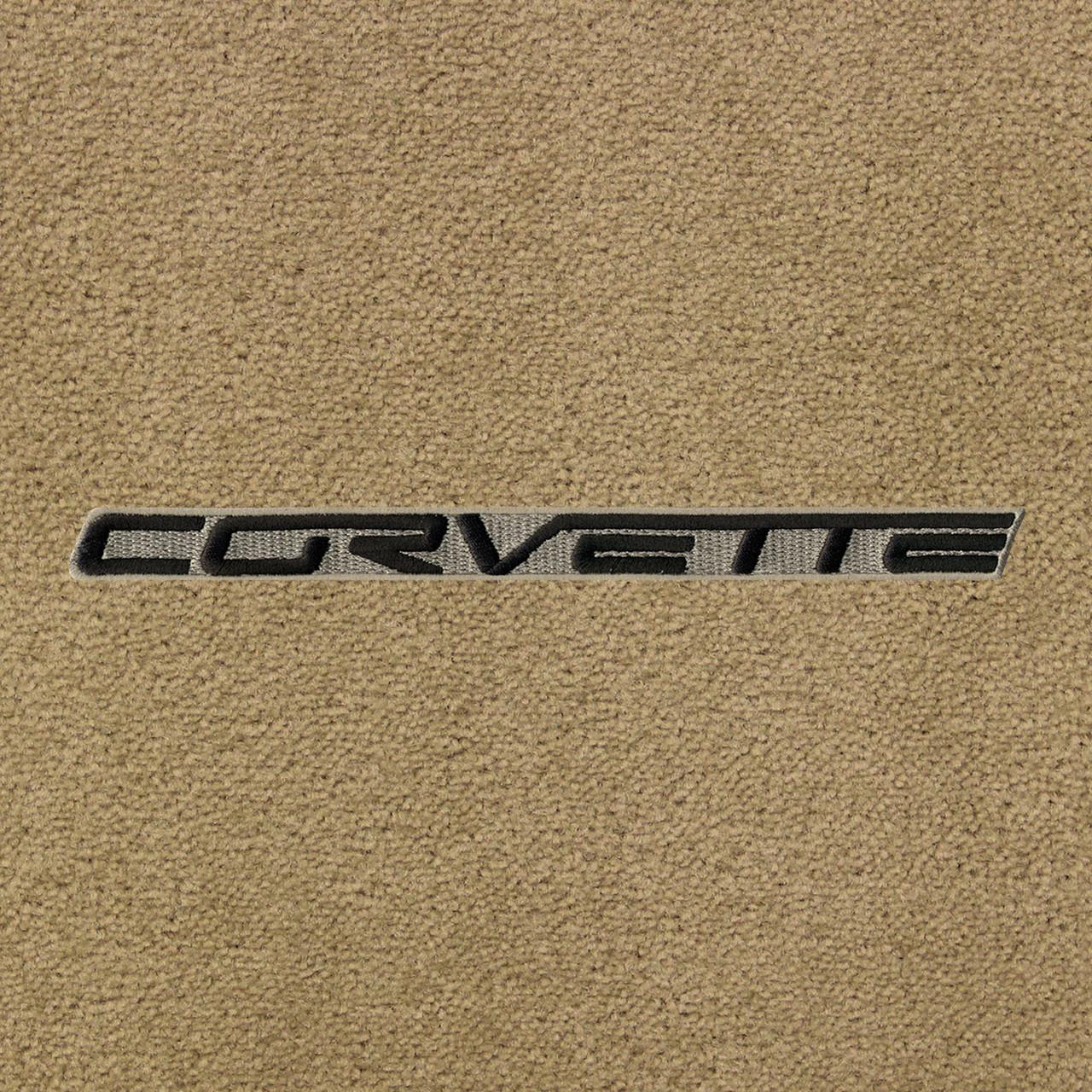 C6 Black Lettering on Beige Background, Cashmere Mat