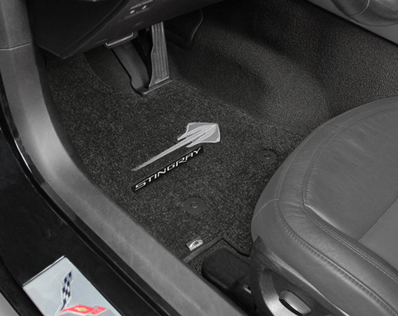 Stingray/Lettering in Car, Ebony Mat
