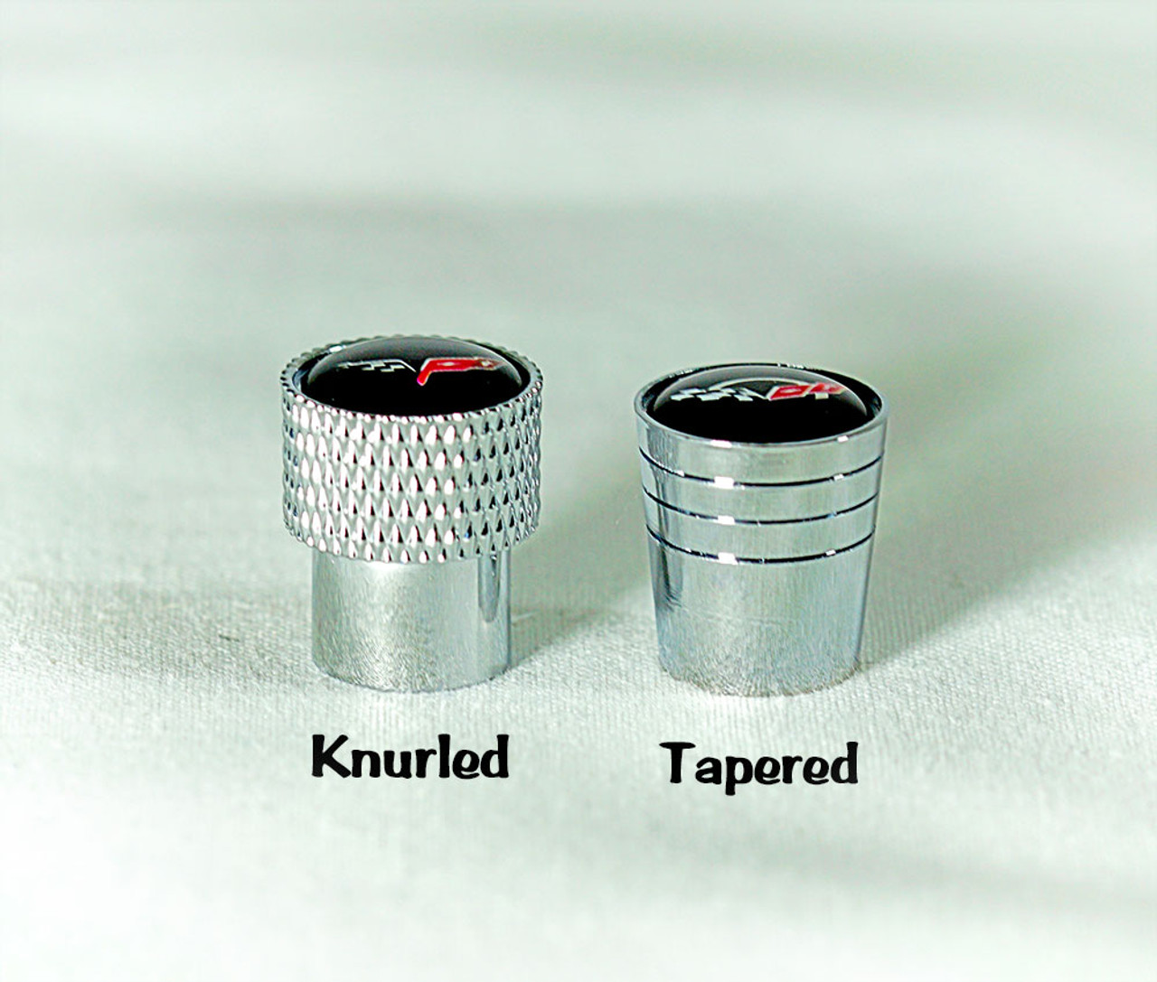 Side by Side Valve Stem Caps (example)