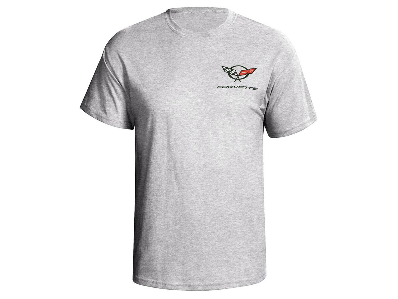 C5 Corvette Gray Ash T-Shirt (front)