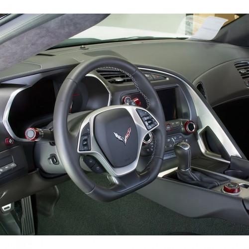 C7 Corvette Interior Knob Kit Inside Car