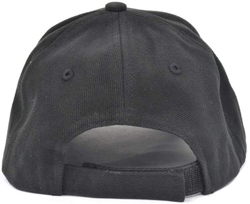 C6 Corvette Black Brushed Twill Hat (back)