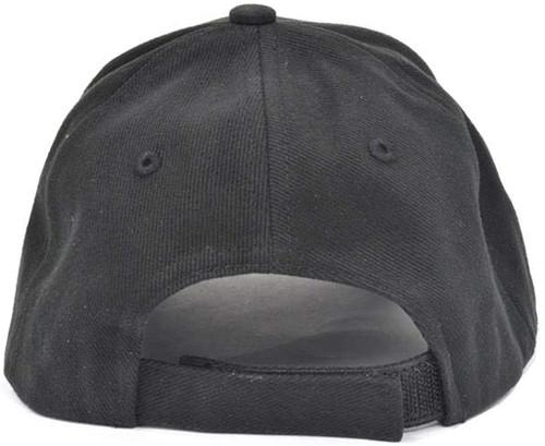 C6 Corvette Black Brushed Twill Hat (back)