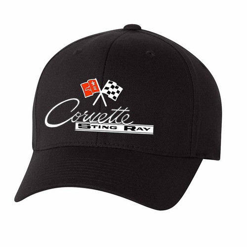 C2 Corvette Performance Flex Fit Black Hat