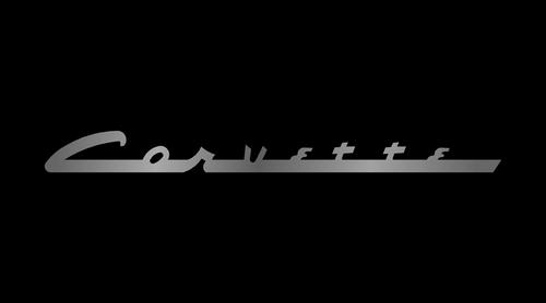 C1 Corvette License Plate
