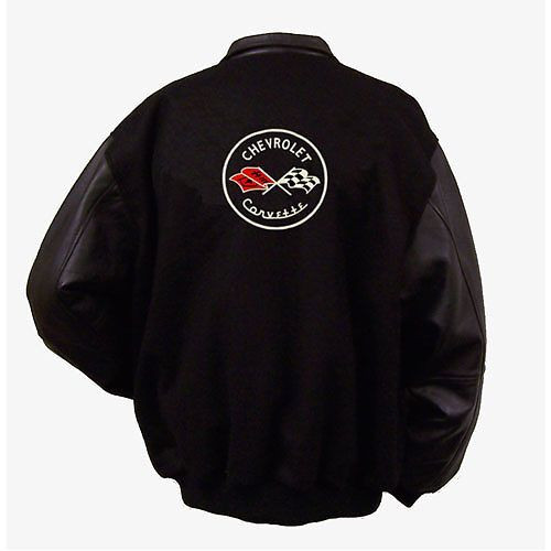 C1 Corvette Varsity Jacket Back